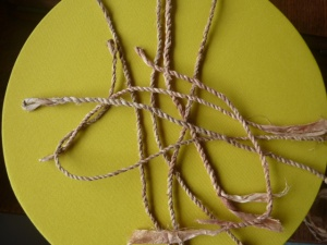bit of silk string making