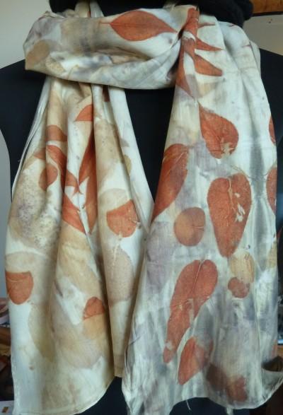 milky merino scarf