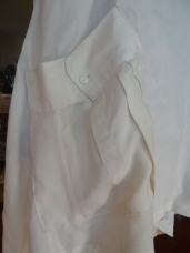 sleeve becomes a pocket