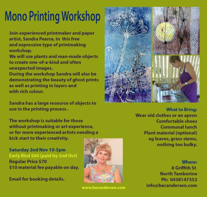 Monoprinting Workshop copy