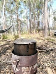 pot on the boil